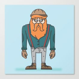 Thunderjack the Lumberjack Canvas Print