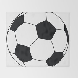World Cup Soccer Ball - 1970 Throw Blanket