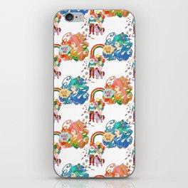 Love me, Kiss me iPhone Skin