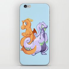 Dragons iPhone & iPod Skin