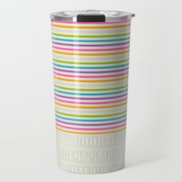 Quoted Beauty Travel Mug