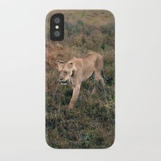 Lone Lion. Slim Case iPhone X