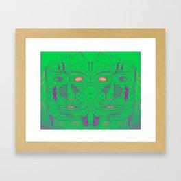 therapist Framed Art Print