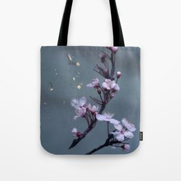 cherry blossoms in the sun Tote Bag