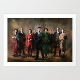 Shelby family Art Print