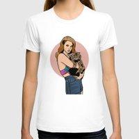 lana T-shirts featuring Lana  by Michael Walchalk