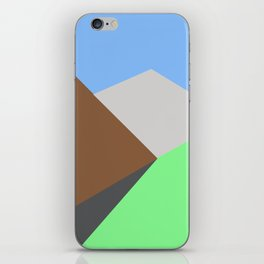 Road to the snow iPhone Skin