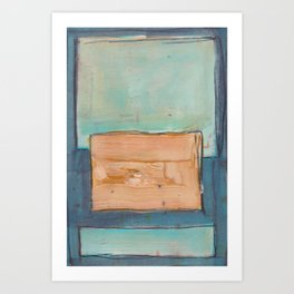 Cool Rothko Art Print