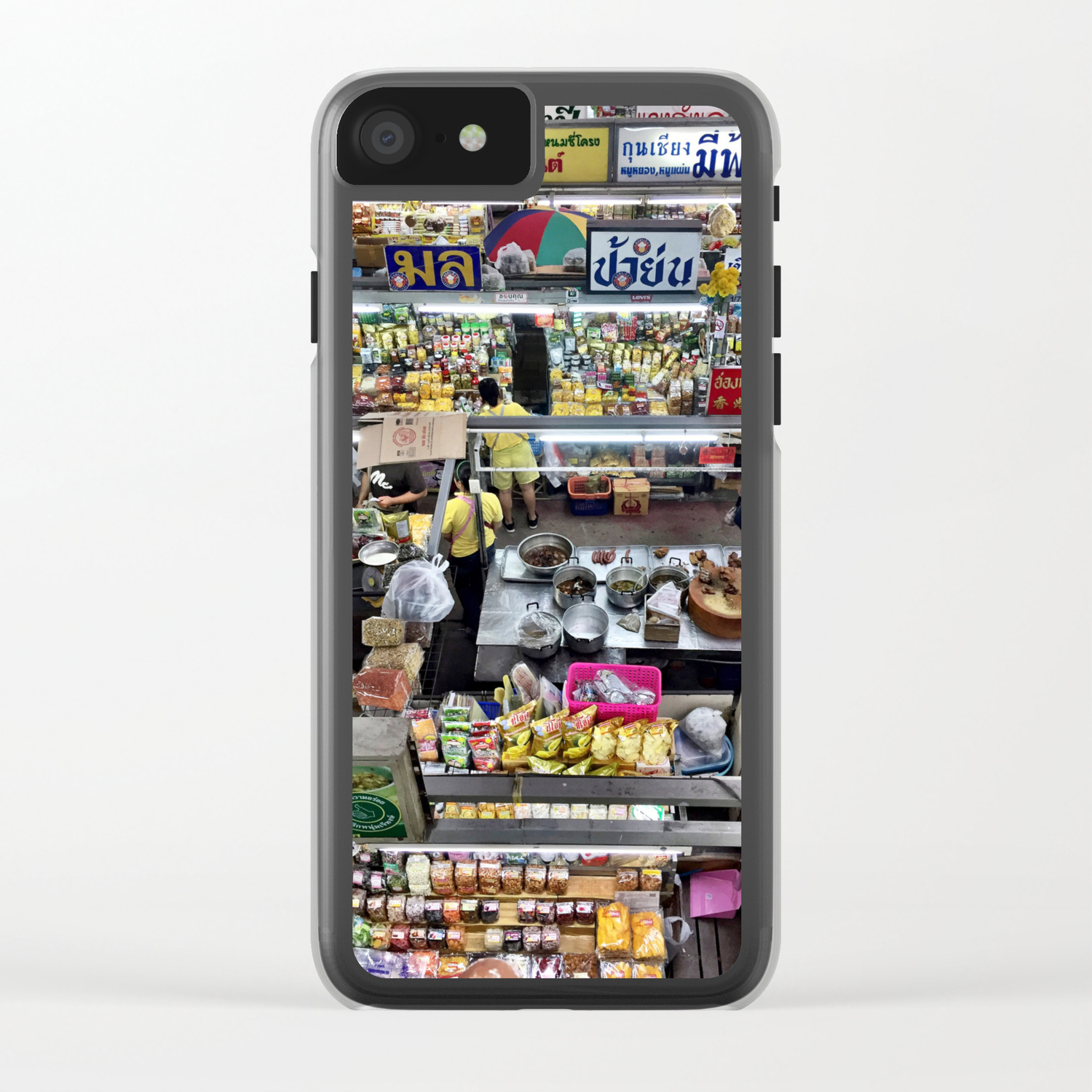 Warorot Market, Chiang Mai, Thailand Clear iPhone Case