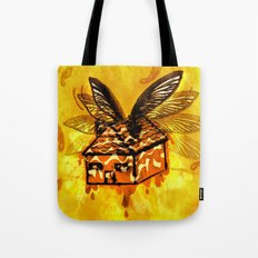 Maple House Fly Tote Bag