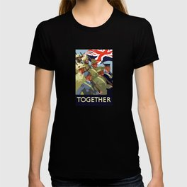 Together -- British Empire WW2 T-shirt