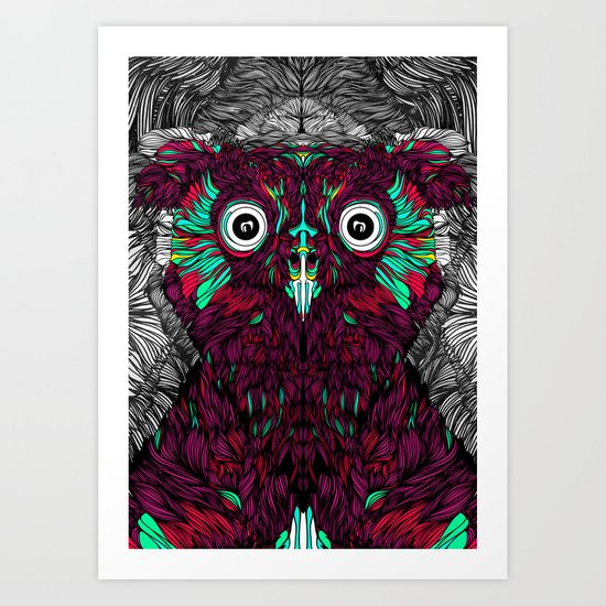 Owl You Need Is Love (Feat. Bryan Gallardo) Art Print