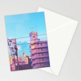 Pastel City Stationery Cards