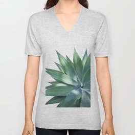 Agave Vivid Delight #1 #tropical #decor #art #society6 Unisex V-Neck