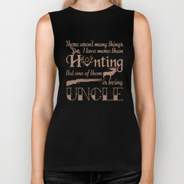 Hunting Uncle Biker Tank