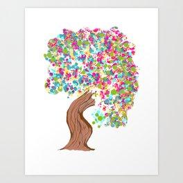 Gumbul Tree Art Print