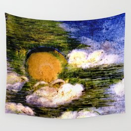 Rain Clouds Wall Tapestry