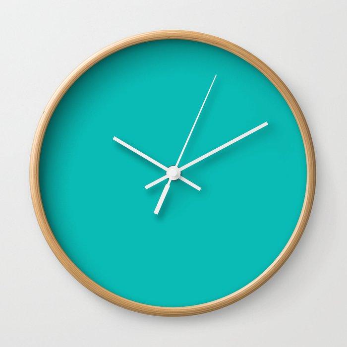 Tiffany Blue) Wall Clock by 10813apparel | Society6