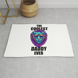 The Coolest Daddy Ever Rug