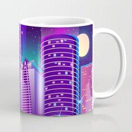 Synthwave Neon City #5 Coffee Mug