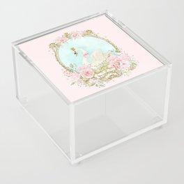The shabby Swan Acrylic Box