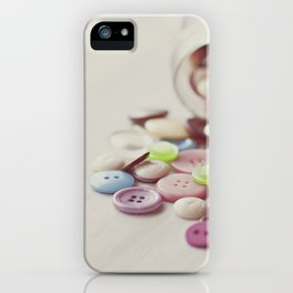 Need Buttons? iPhone Case