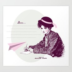 Lady Jane Art Print