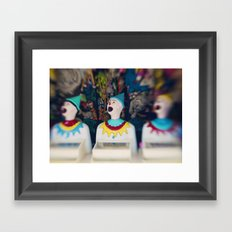 Send in the Clowns Framed Art Print