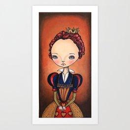 Red Queen Art Print