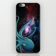 octopus astronaut  iPhone & iPod Skin