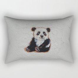 Tiny Panda Rectangular Pillow