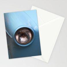 Blue Car Stationery Cards