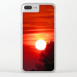 Out the door Clear iPhone Case