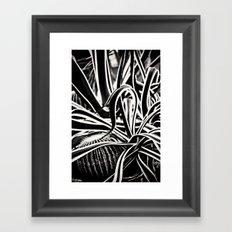 Jaggered Framed Art Print
