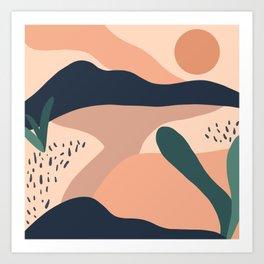 Desert Vibes .02 Art Print