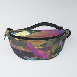 Titanium Rainbow Aura Quartz 1 Fanny Pack
