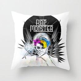 Rap Monster (Wings) Throw Pillow