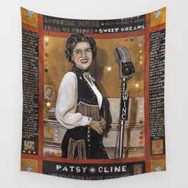 Patsy Cline Wall Tapestry
