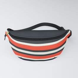 Masanori - Classic Racing Retro Stripes Fanny Pack