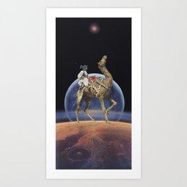 Dancing Camel Art Print