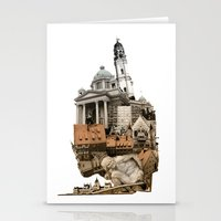 budapest Stationery Cards featuring Budapest by Alex Eckman-Lawn