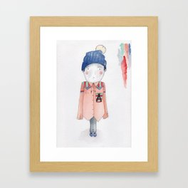 Joshua Framed Art Print