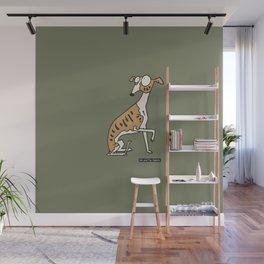 Dog - whippet Wall Mural