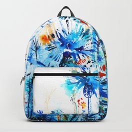 thickets of cornflowers Backpack