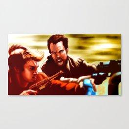 Captain on the Run Canvas Print