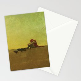 Howard Pyle's Marooned Stationery Cards