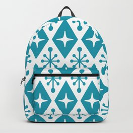 Mid Century Modern Atomic Triangle Pattern 119 Backpack