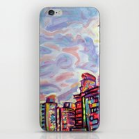 vancouver iPhone & iPod Skins featuring DeConstruction, Vancouver by Morgan Ralston