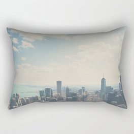 Looking down on the city ... Rectangular Pillow