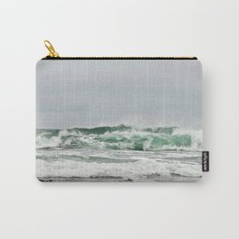 Explosive Green Surf of the St-Lawrence Carry-All Pouch